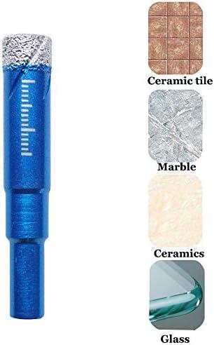 Broca para taladro de 8 mm con inserto de cera de enfriamiento para azulejos de cer/ámica granito m/ármol porcelana