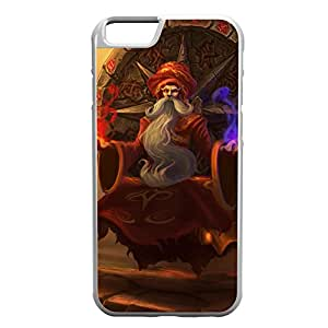 Zilean-002 League of Legends LoL case cover for Apple iPhone 6 Plus - Rubber White