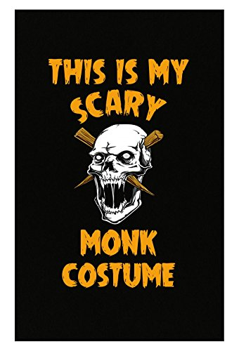 Inked Creatively This is My Scary Monk Costume Poster -