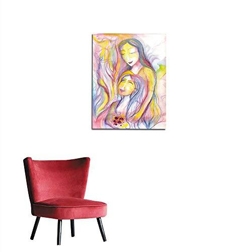 "longbuyer Photographic Wallpaper Motherhood Mural 32""x48"""