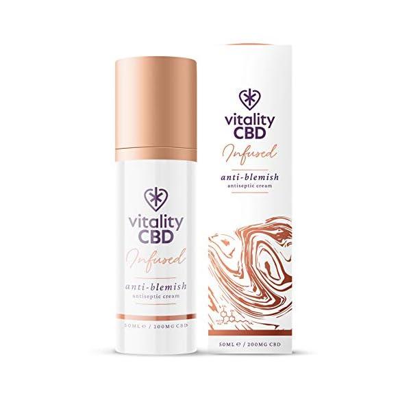 Vitality CBD Infused Anti-blemish Cream, 200mg cannabidiol, 50ml