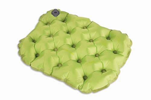 Summit Air - Sea to Summit Air Seat insulated - Stadium & Sporting Event Inflatable Compact Cushion, Green