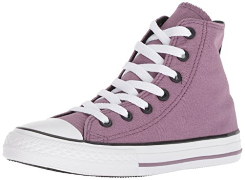 Converse Boys' Chuck Taylor All Star 2018 Seasonal High Top Sneaker, Purple/Multi, 4 M US Big Kid ()