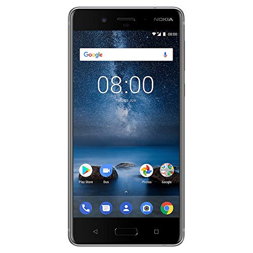 Nokia 8 - Android 9.0 Pie - 64 GB - Unlocked Smartphone (AT&T/T-Mobile/MetroPCS/Cricket/Mint) - 5.3