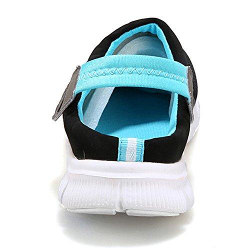 Slippers Breathable Mules Summer Leisure Hausschuhe Damen Mesh Blau Sandalen Clogs Pantoletten Gartenschuhe Schuhe Herren 4zqvqw5