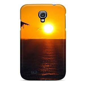 New Design Shatterproof GSr362ClAj Case For Galaxy S4 (jet Sunset)
