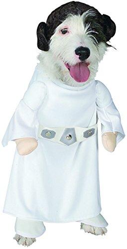 [Princess Leia Pet Costume - Large] (Authentic Princess Leia Costumes)