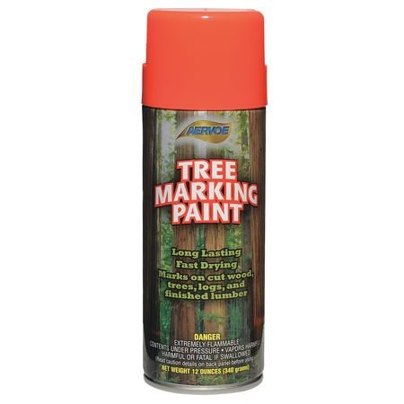 Paint Aervoe Marking (Tree Marking Paint, Fl. Orange-Red, 16 oz.)
