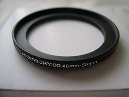 HeavyStar Dedicated Metal Stepup Ring 46mm-55mm