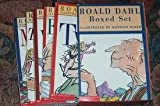 img - for Roald Dahl 10-books Set (Witches, Twits, Charlie and the Chocolate Factory, Charlie and the Great Glass Elevator, BFG, The giraffe and the pelly and me, Matilda, The Wonderful Story of Henry Sugar, Magic Fingers, George's Marvelous Medicine) book / textbook / text book