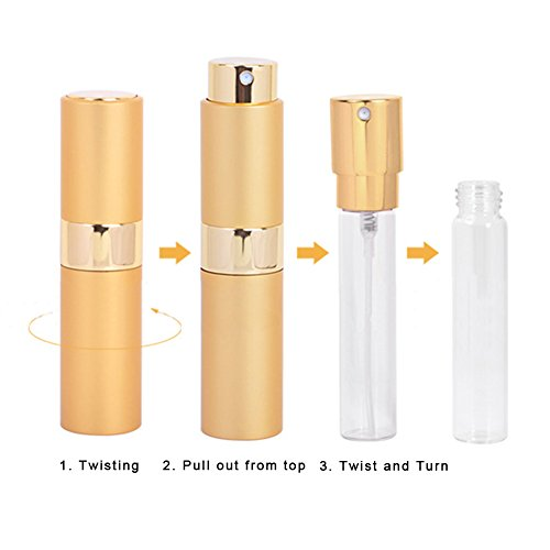 05ce3c5e5317 Wintefei 8ml Portable Perfume Atomizer Bottle Pump Travel Refillable ...