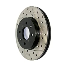 Stop Tech 127.47018R Sportstop Slotted and Drilled Brake Rotor