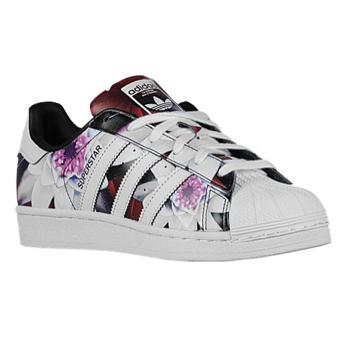 new product c4e57 3d1a6 Adidas Women's Superstar Multicolor Floral Print (8.5) - Buy ...