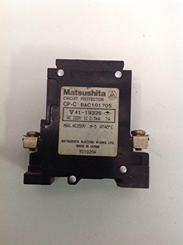 Matsushita BAC101705 Circuit Breaker (Matsushita Electronics)
