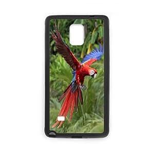 Samsung Galaxy Note 4 Cases Flying, Samsung Galaxy Note 4 Case Girls - [Black] Okaycosama