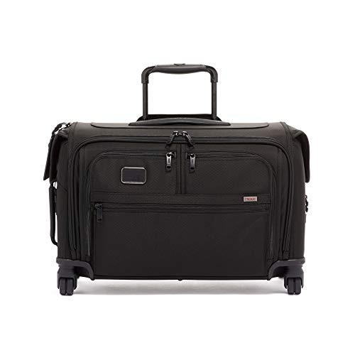 TUMI - Alpha 3 Garment Bag 4 Wheeled Carry-On Luggage - 22 Inch Dress or Suit Bag for Men and Women - Black