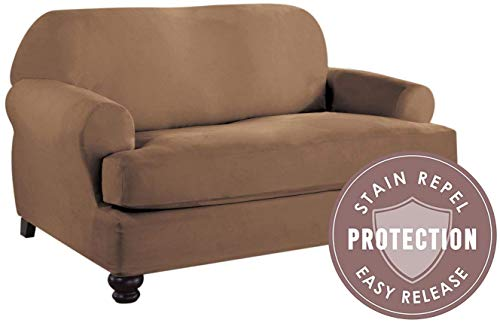 Perfect Fit Industries Tailor Fit Loveseat T Cushion Slipcov