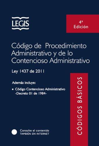 Descargar Libro Código De Procedimiento Administrativo Y De Lo Contencioso Administrativo - Colección De Códigos Básicos Legis