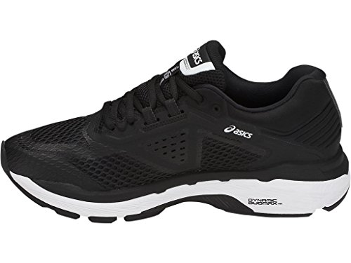 ASICS Women's GT-2000 6 Running Shoe, Black/White/Carbon, 5.5 M US by ASICS (Image #4)