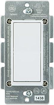 GE 12723 Bluetooth Wireless Smart Lighting Controls Switch