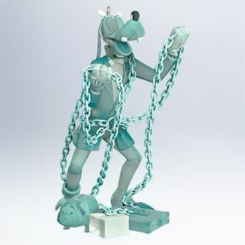 Goofy as Jacob Marley 2011 Hallmark Disney Mickey's Christmas Carol #3 Ornament