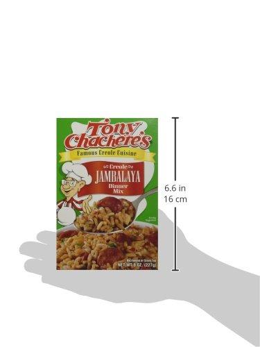 Amazon.com : Tony Chachere Rice Dinner Mix, Jambalaya, 4 Count : Grocery & Gourmet Food