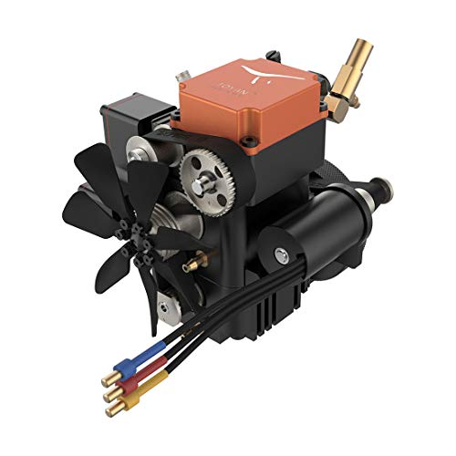 Yamix 4 Stroke Petrol Engine Model RC Engine Toyan Engine Motor with Water Cooler for 1:10 1:12 1:14 RC Car Boat…