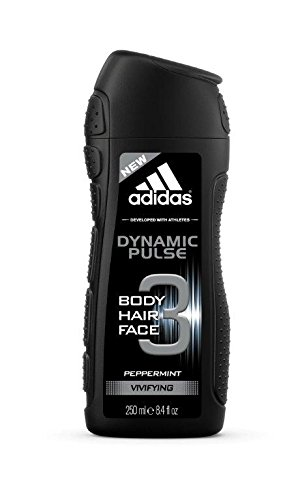 3acf7f230 Adidas Dynamic Pulse 3 In 1 Body, Hair And Face Shower Gel For Men, 250ml