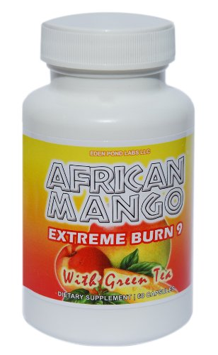 African Mango- Extreme Fat Burner and Summer Weight Loss Supplement, 60 Capsules, 1 Month Supply