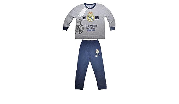 Real Madrid F.C. - Pijama dos piezas - para niño Design 3 ...