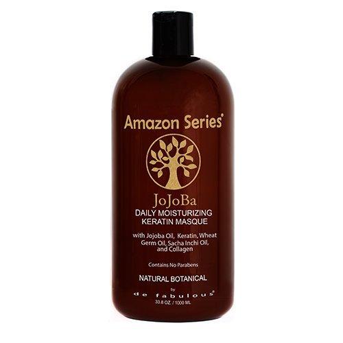 Amazon Series Jojoba Moisturizing Keratin Masque 33.8 fl oz (Hair Masque Moisturizing)