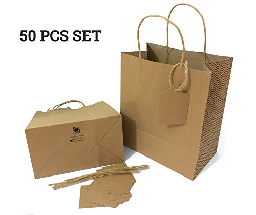 Brown Paper Bag String Handle - 1