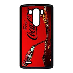 Protection Cover LG G3 Cell Phone Case Black Beqkp Coca Cola Personalized Durable Cases
