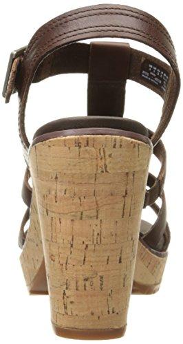 Fisherman Timberland Roslyn Marrón Dark de Tobillo Sandalias Sandal Mujer Eastlook Roslyn Brown 877Wn