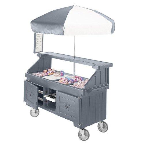 - Cambro Camcruiser 4Well Umb-Grgry (CVC724191) Category: Vending Carts