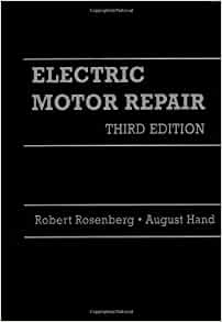 electric motor repair robert rosenberg john rosenberg