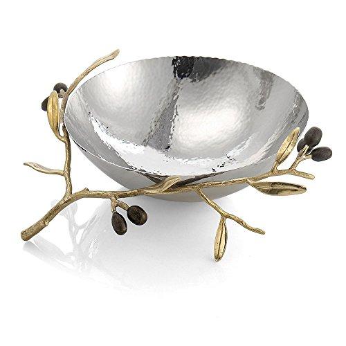 Gold Olive (Michael Aram Olive Branch Gold Steel Bowl)
