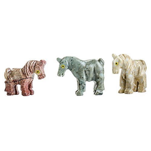 Digging Dolls : 30 pcs Artisan Horse Collectable Animal Figurine - Party Favors, Stocking Stuffers, Gifts, Collecting and More! by Digging Dolls