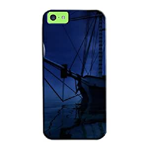 Shock Absorption Calm Waters For Iphone 5c Calm Waters Navy TPU Protective Case