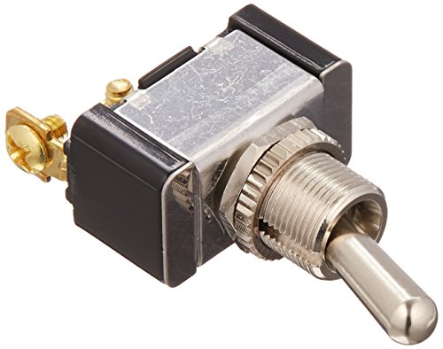 - Cole Hersee 5582 Silver SPST On-Off Toggle Switch