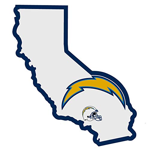 NFL San Diego Chargers Home State Decal, -