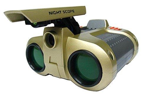 4 x 30 Night Scope Binoculars with Pop-up Light, Kids Toy