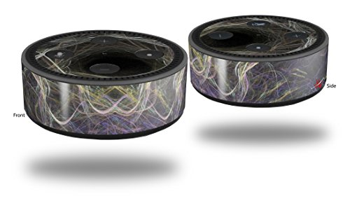 Skin Wrap Decal Set 2 Pack for Amazon Echo Dot 2 - Tunnel (2nd Generation ONLY - Echo NOT INCLUDED) ()