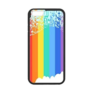 DIY Printed Rainbow hard plastic case skin cover For iPhone 6 Plus 5.5 Inch SN9V993022