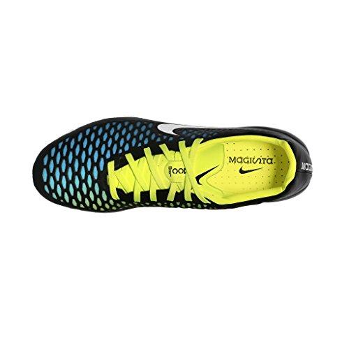 Nike Magista Opus FG BLACK/WHITE-BLUE LAGOON-VO