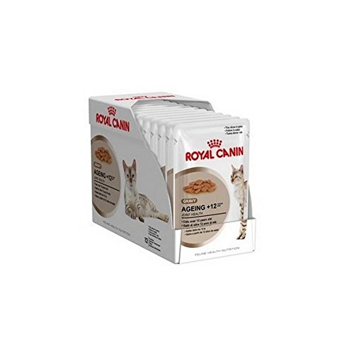Royal Canin Ageing +12 Cat Food Gravy Pouch 12x85g