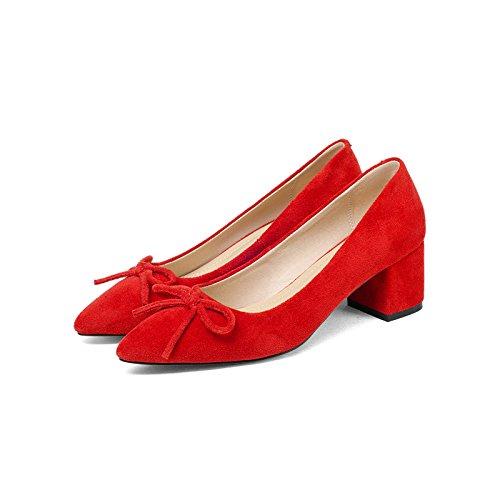 punta pajarita luz con gran de la la cantidad de zapatos en red Confortable femeninos singles wIRfTvxqv