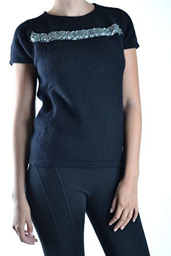 Negro Lana Mujer Mcbi11618 Suéter Balmain A0xHqnt