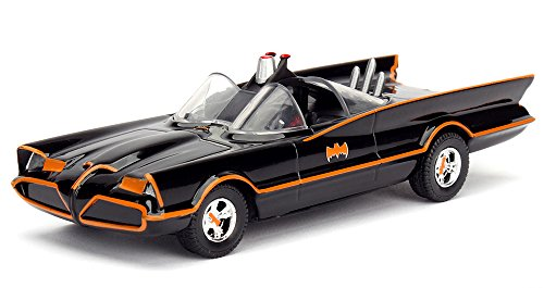 1966 TV Series Classic Batman Batmobile 1/32 Diecast Model Car by Jada F977-98225