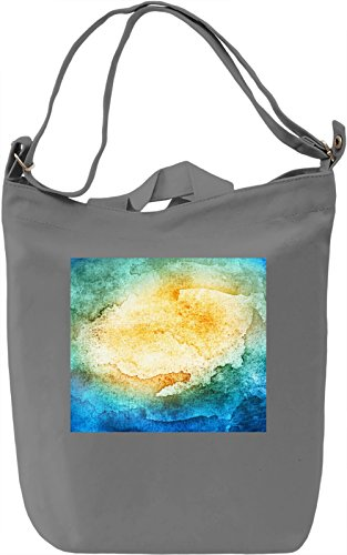 Colored watercolor texture Borsa Giornaliera Canvas Canvas Day Bag| 100% Premium Cotton Canvas| DTG Printing|